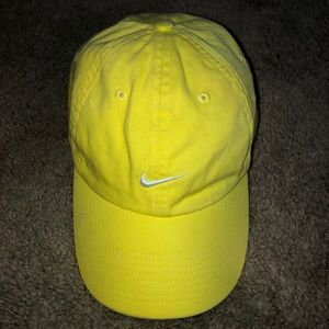 Yellow Nike hat